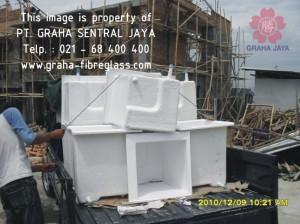 Bak Mandi Kotak / Sudut Fiberglass