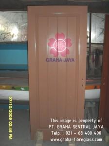 Daun pintu fibreglass untuk kamar