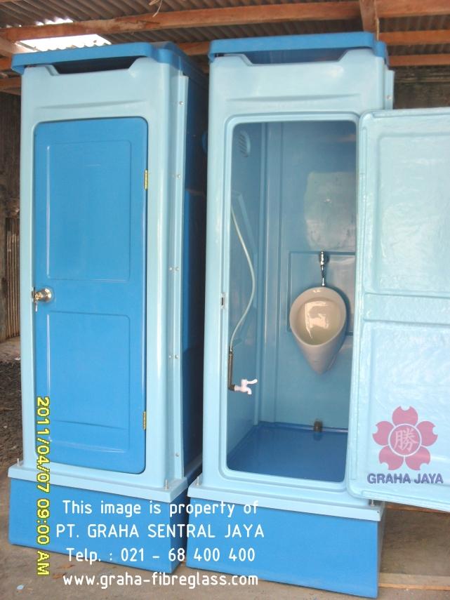 Toilet Portable Tipe C - menggunakan urinal