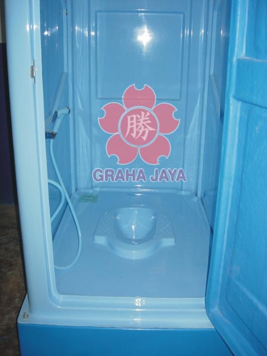 Toilet Portable Tipe C Standar - tampak dalam