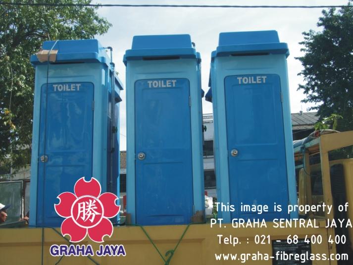 Toilet Portabel Tipe B - Pengiriman ke lokasi proyek