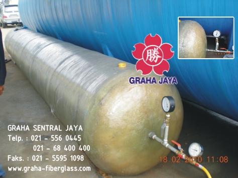 Pressure Tank Fiberglass / Tangki bertekanan tinggi