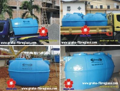 Septic tank biosys untuk perumahan / kantor / ruko