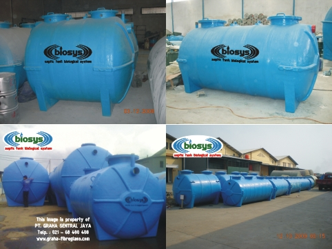 Septic tank komunal biosys tipe bcx-series untuk hotel, apartemen, mall dll.