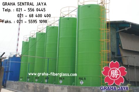 Storage Chemical Tank Fiberglass